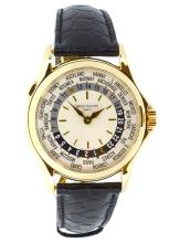 Watch Patek Philippe Complicated World Time 18K Apprisal Certifacate $47,000