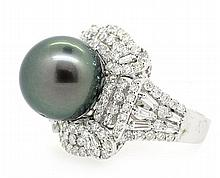 13.16mm South Sea Pearl Ring 18K