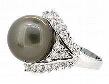 15.5mm South Sea Pearl Ring 18K