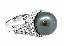 14.90mm South Sea Pearl Ring 18K