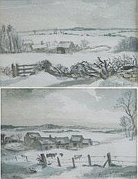 MICHAEL GORDON BROCKWAY A pair of farmstead