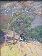 ERNEST YARROW JONES Spring blossom. Oil on canvas., Ernest Yarrow Jones, Click for value