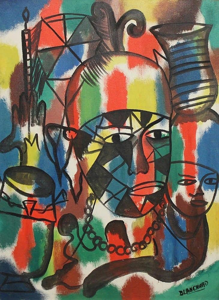 Sisson BLANCHARD (1929-1981).