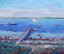 Clifford Warren Ashley / American, 1881–1947 / A View from Mishaum Point to Barney´s Joy, South Dartmouth Massachusetts