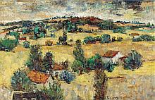 Richard Bellias / French 1921-1974 / A French Landscape