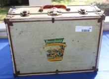Small Metal Trunk w/PA Sticker