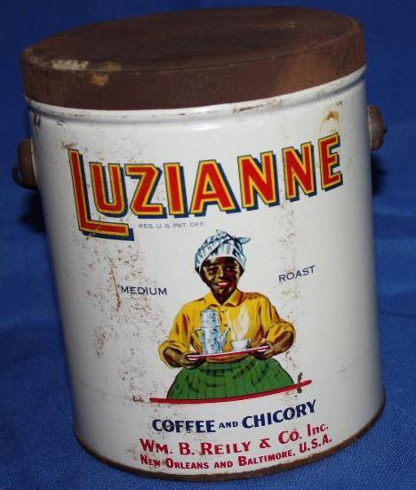Luzianne Coffee & Chicory Can w/ handle.