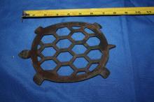 Turtle Iron Trivet