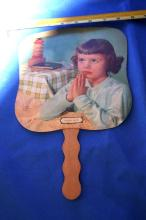 A Child's Prayer Fan