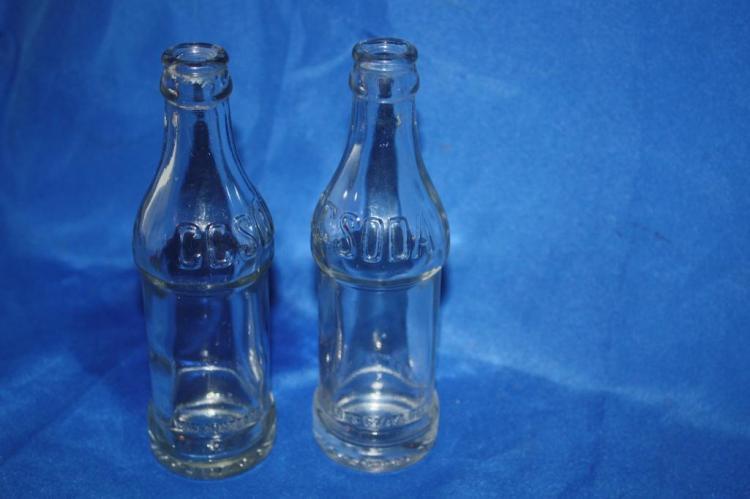 2 CC Soda Bottles