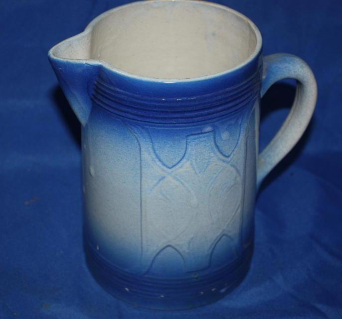 Salt Gaze Stoneware Pitcher