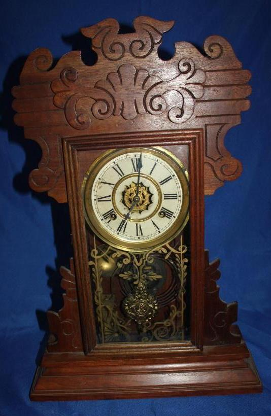 Early Waterbury Clock Company Mantle Clock