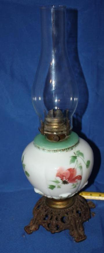 White Light Co. Oil Lamp