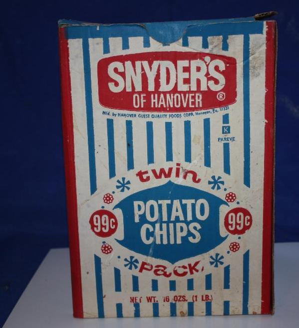 Snyder's Potato Chip Box (Cardboard)