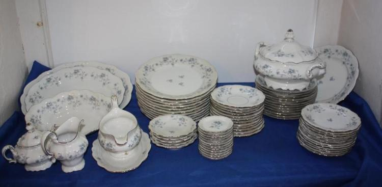 Bavaria Germany Blue Garland China set