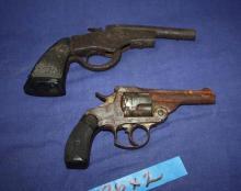 22 Falling Block handgun & 38 Break Open handgun