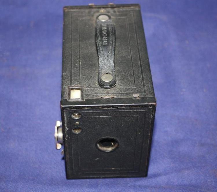 Brownie number 2 ammunition box.