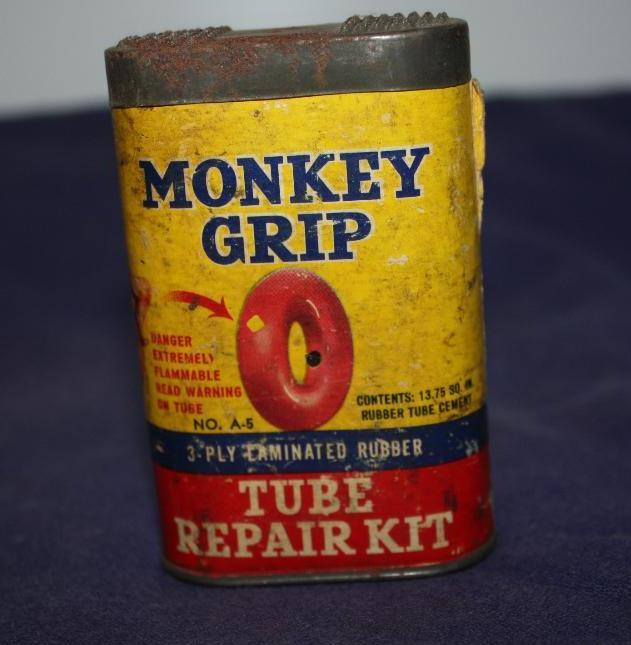 Monkey Grip Can, Tube Repair Kit