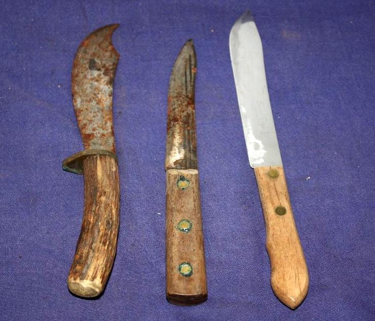 3 Early Knives
