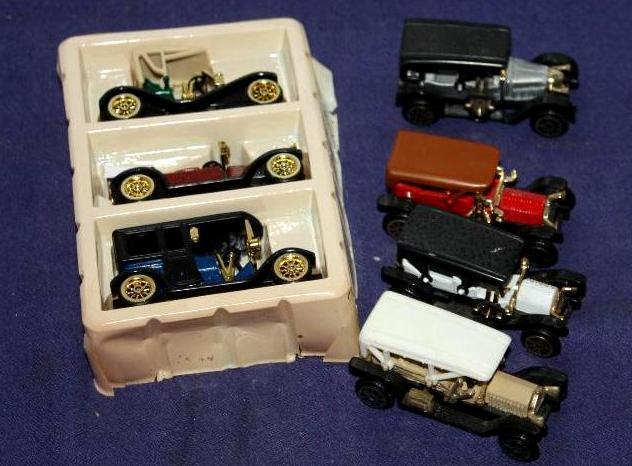 7 Toy Cars