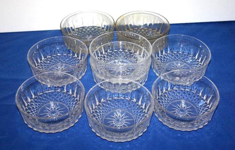 9pcs misc glassware.