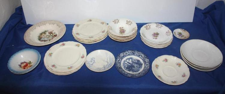 32 Pc. Misc. Dish Set