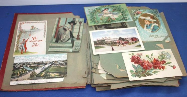 Book of Early Postcards.