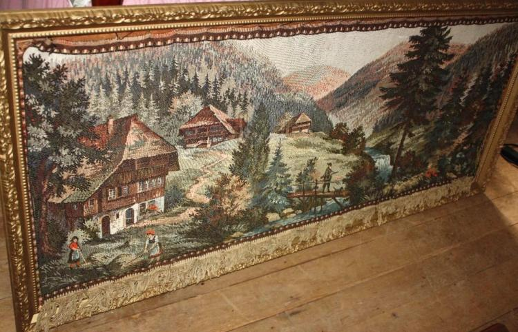 Tapestry, Swiss Scenery