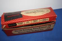 Vintage Steam Iron w/Box & 1 Iron without Box.