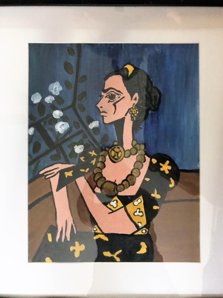 "F Lennox Campello (American/Cuban artist) ""Passion for Frida: 27 Years of Frida Kahlo Artwork"" 2002-12-20 until 2003-01-15 Fraser Gallery Georgetown, MD, USA United States of America"