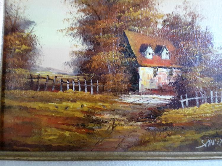 Artistic Interiors Inc Certified Original Oil.Original Oil Painting ...