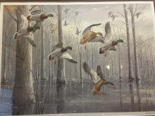 Maynard Reece THE SNOWSTORM MALLARDS Signed and Numbered 386/950