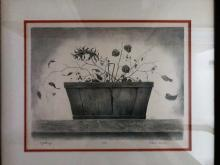 """""""A Gathering"""" Signed in Pencil by Patrick Farrell and Numbered 75/140"""