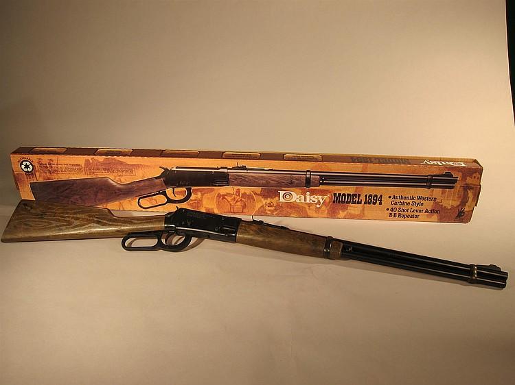 Daisy model 1894 spring/air b. B gun/rifle w/safety,target site.