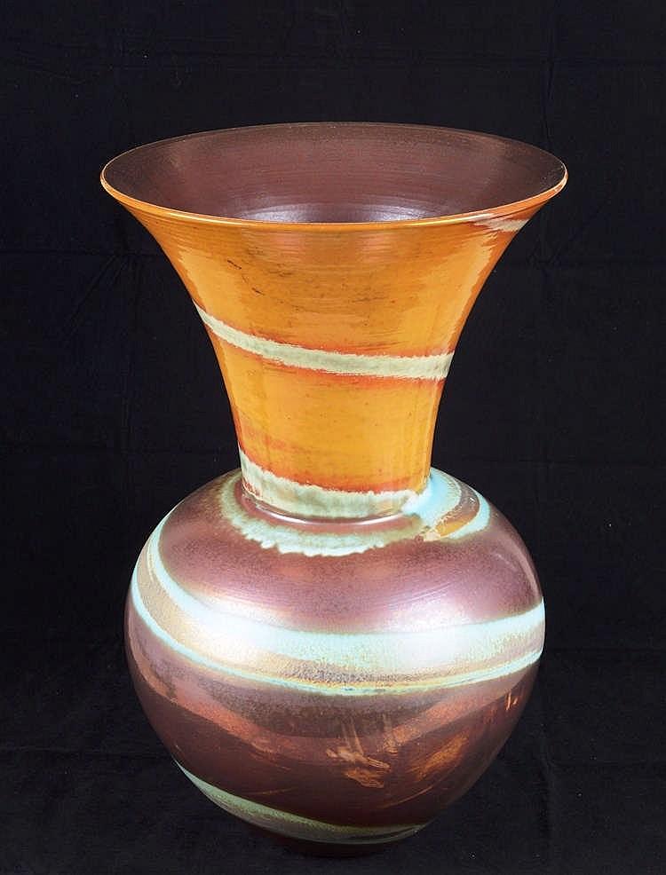 grand vase ovo de col largement vas en c ramique de moba. Black Bedroom Furniture Sets. Home Design Ideas