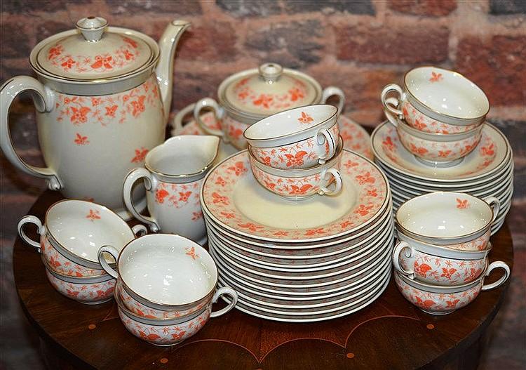 Service en porcelaine de paris jean haviland 60677r - De haviland porcelaine ...