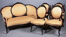 Mobilier de salon Louis - Philippe.