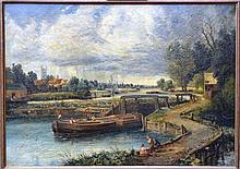 ECOLE Belge du 19è siècle.
