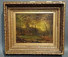 Huile sur toile signée Z. Platteau