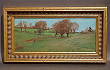 Huile sur toile signée Jean Julémont