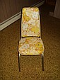 VINTAGE FLORAL PRINT CHAIRS LOT OF 4