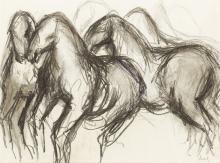 Eckl, Vilma - Horse study