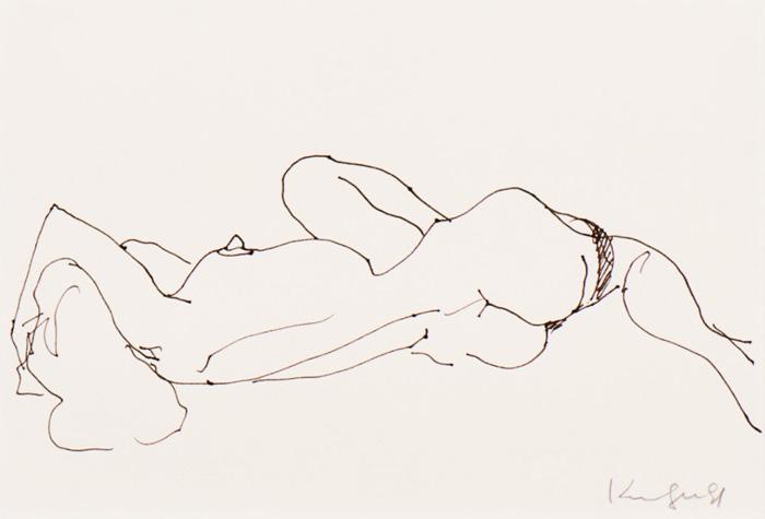 Reclining Nude; 1991