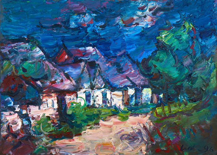Stadelzeile in Burgenland; 1996