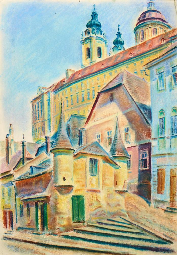 Melk Abbey; 1950