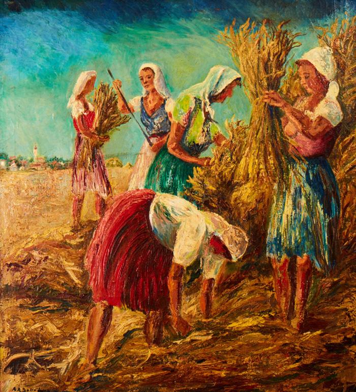Harvest; 1945