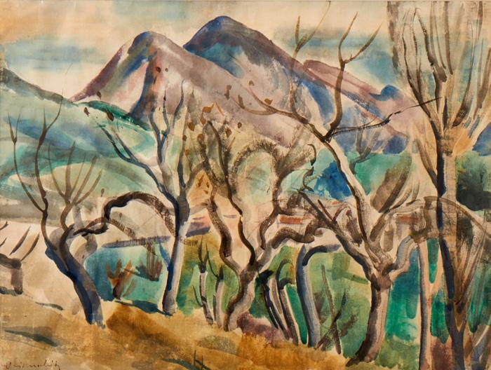 Haute Provence; 1930