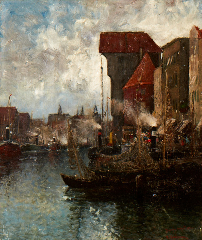 Gdansk; Harbor; August 1902