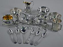 15-PIECE STERLING SERVICEWARE GROUP
