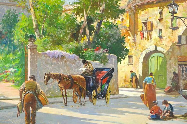 ALDO AFFORTUNATI (Italian, b.1906)